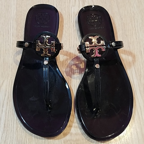 12f2883d9876 Tory Burch Mini Miller black Sandals